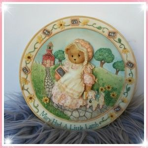 Other - Mary had a Little lamb 3D nursery plate